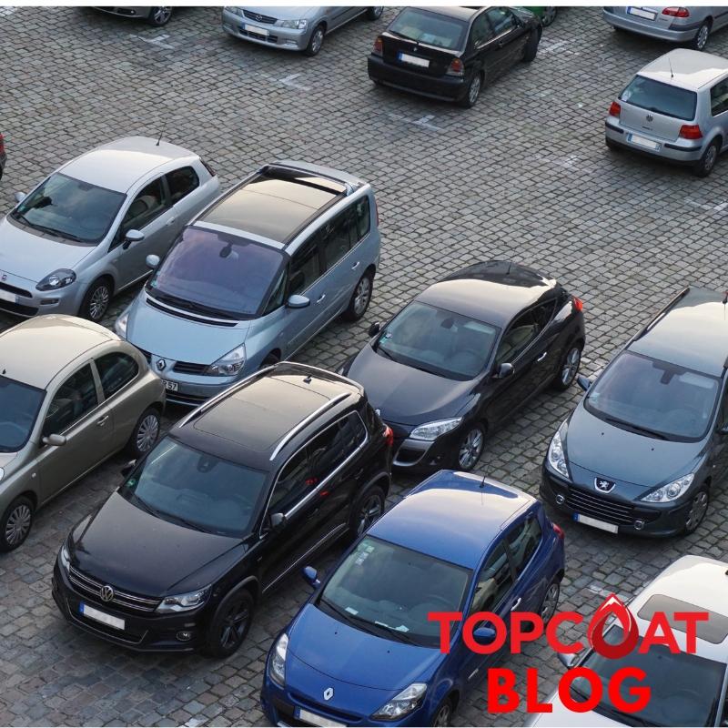 Cara tepat Parkir kendaraan agar cat mobil tidak kusam