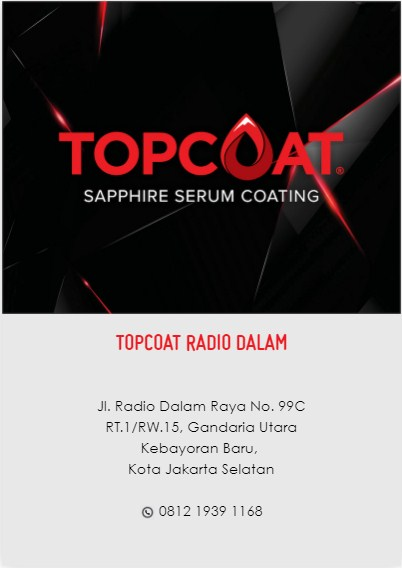 Salon Mobil TOPCOAT Radio Dalam